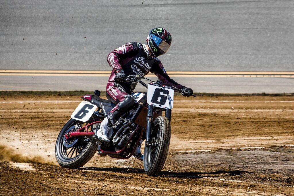 I'm ready to rip tomorrow on the @indianmotorcycle FTR 750 supported by @allstate!