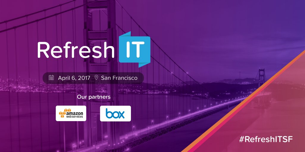 Thumbnail for Refresh:IT San Francisco