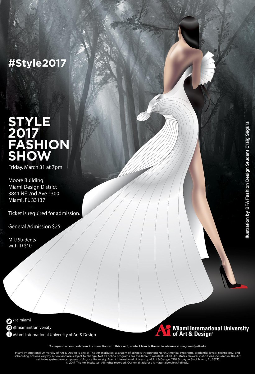 Miu On Twitter We Are So Excited For Tonight S Sold Out Fashion Show Join Us On Facebook Live At 7p Https T Co H2zc90v1ou Aiproud Style2017 Https T Co Hnjyalsz8v