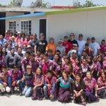 El esfuerzo de #Zequentic, #FundaciónEscalera y sobre todo de nuestro amigos de #BMC dio como resultado este año ¡Tres aulas!   #Chiapas