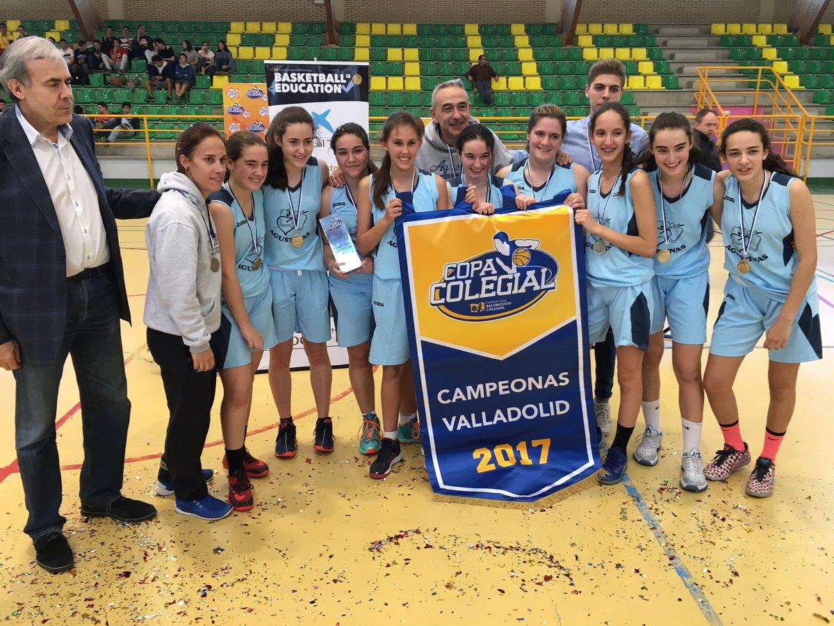 Agustinas Valladolid - 2017 - Club Deportivo - Campeonas Copa Colegial 2017