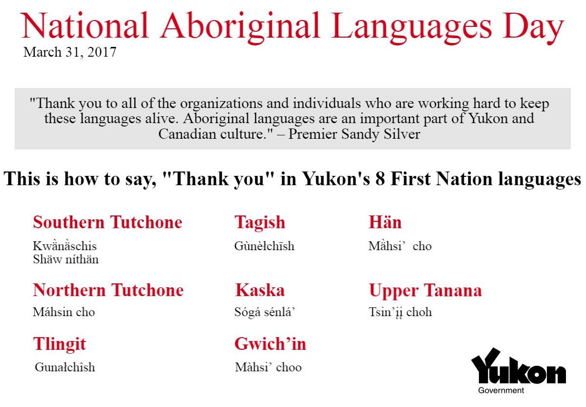 "Language In 45 And 47 Stella Street: Government Of Yukon On Twitter: ""Many Of Yukon's Self"