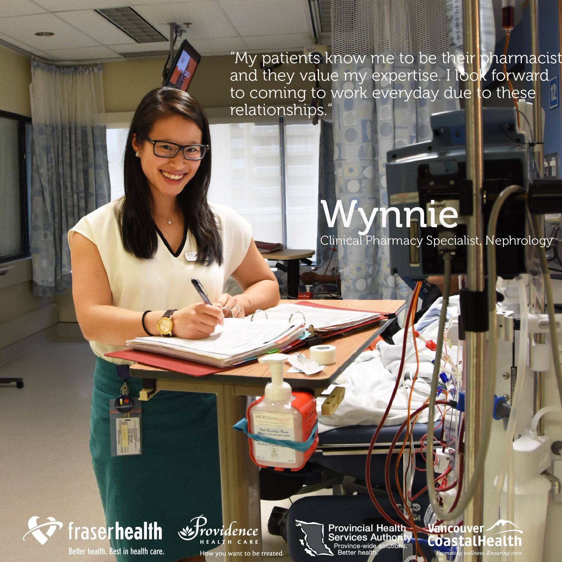 """I look forward to coming to work every day due to...""- Wynnie, Clinical Pharmacy Specialist https://t.co/CNjuR1sRri #IAMPHARMACIST #PAM2017 https://t.co/BB7qgcNWZB"
