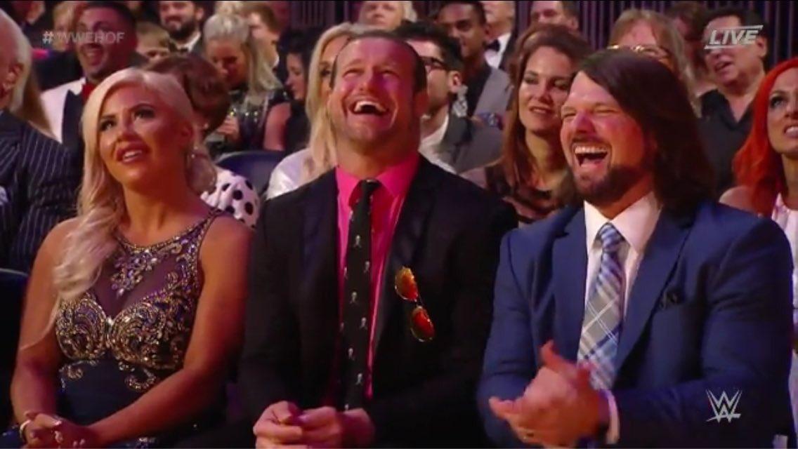 This is meme worthy.  #WWE #WWEHOF