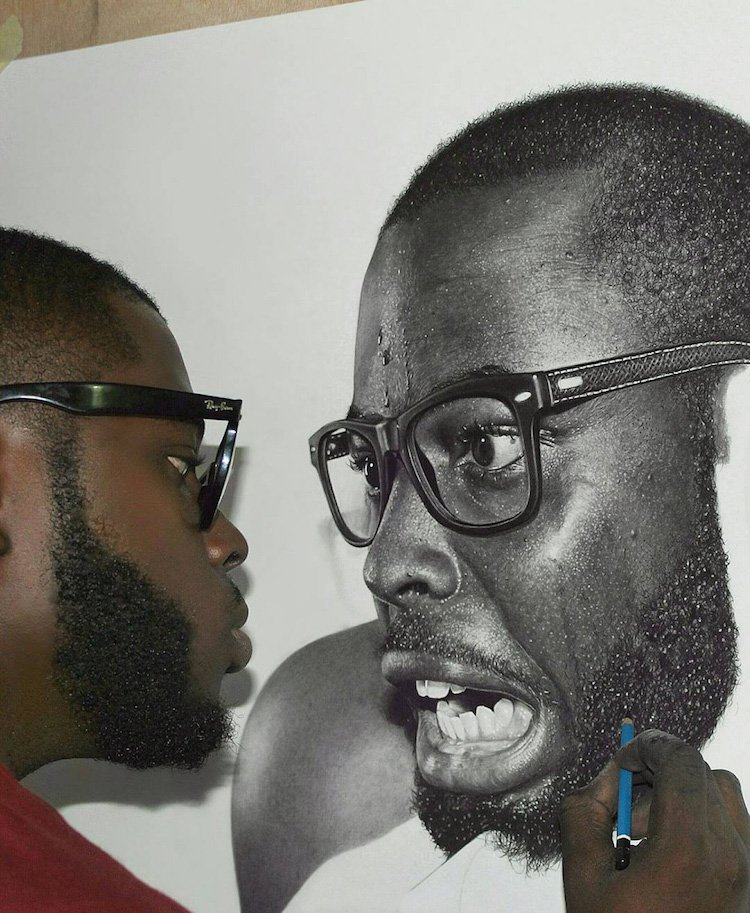 This Nigerian artist spends up to 200 hours creating hyperrealistic pencil portraits https://t.co/hzHz8iRvMS https://t.co/vdGn6Qt8r9
