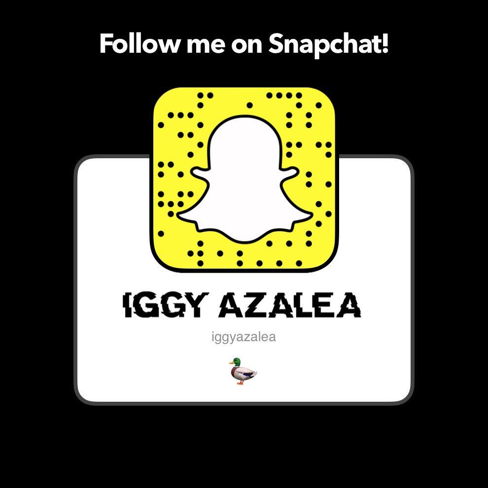 Snapchat Iggy