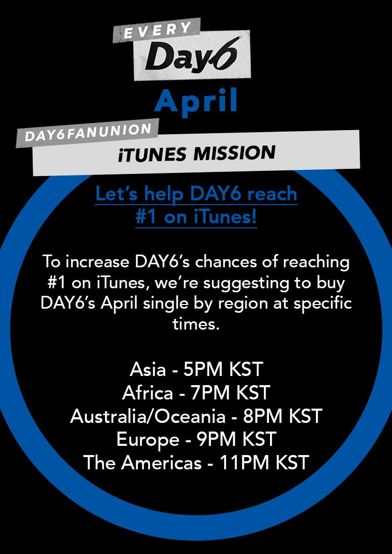 """[RT] EveryDAY6 April Missions ☆iTunes Mission ☆ Purchase """"I'm Serious"""" on iTunes from Window (Tutorial) ..."""