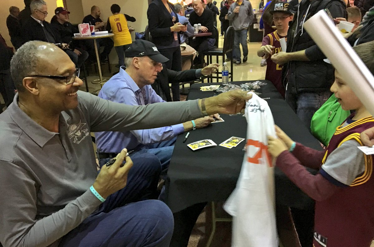"""Cleveland Cavaliers on Twitter """"Elmore Smith Barry Clemens and"""