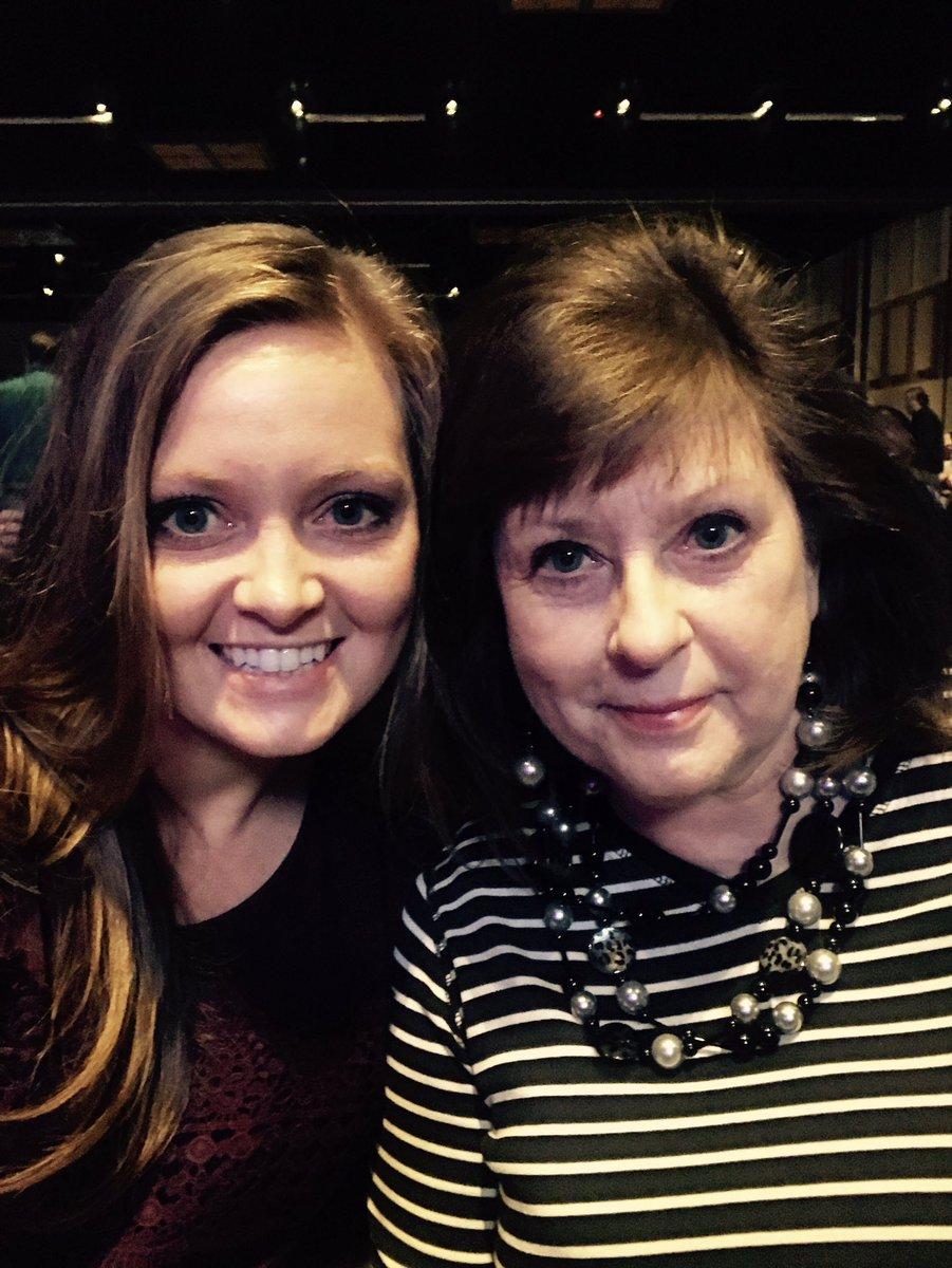 Mom and I ready for Lynyrd Skynyrd!!#winstarlive