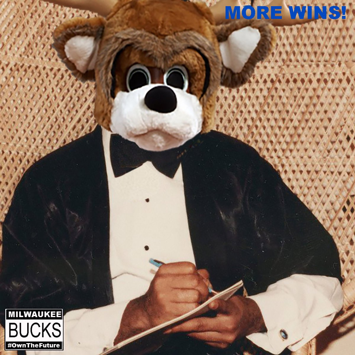 Bucks Win! #MoreLife #Drake https://t.co/o6fozq9vjE