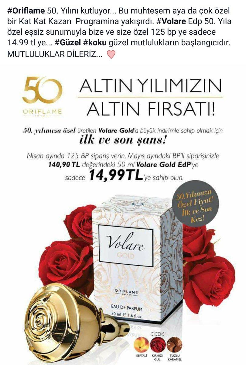 Nurten Sarta On Twitter Oriflame Edp Gzel Koku Volare Gold Eau De Parfum 50ml By Oryflame Nurtensarta