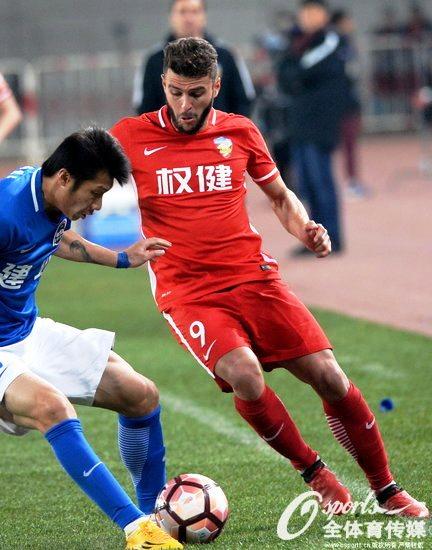 Жуниор Мораес провел дебютный матч за Тяньцзинь Цюаньцзянь - изображение 2
