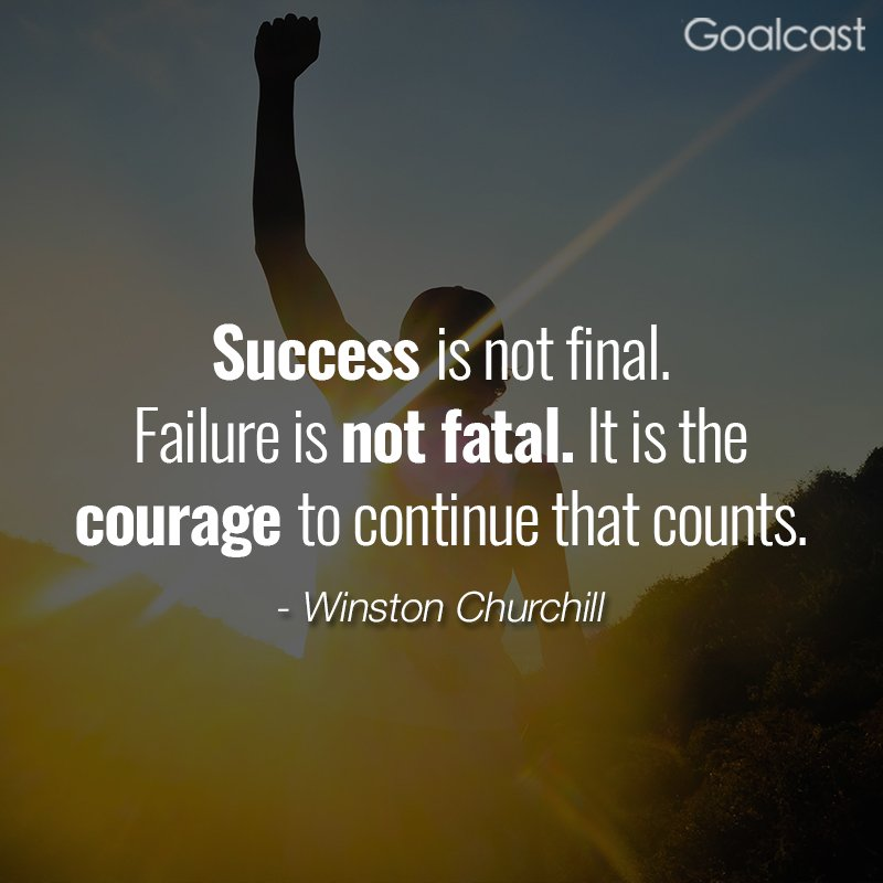 """success is not final failure is """"success is not final, failure is not fatal: it is the courage to continue that counts"""" ― winston s churchill march 24, 2018 by sayquotable_i3g2zr leave a comment."""