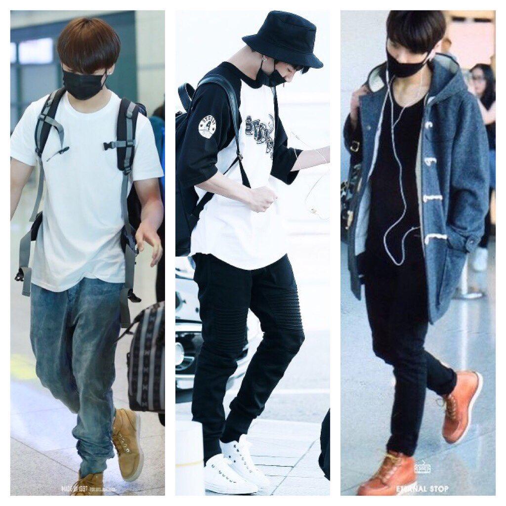 Jungkook Pics On Twitter Jungkook Airport Fashion