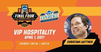 Meet me TODAY at the @FinalFour NCAA Experience Party powered by @PrimeSport!