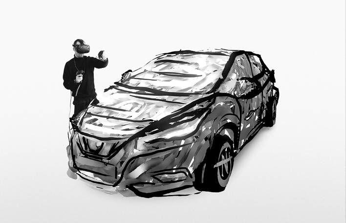 Brilliant 3D Tilt Brush Creation by Nairone – Fubiz Media