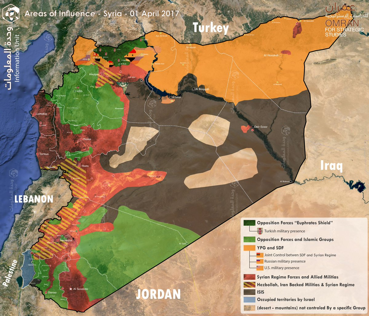 Nawar Sh Oliver On Twitter Updated Control Influence Map - Map of syria and turkey