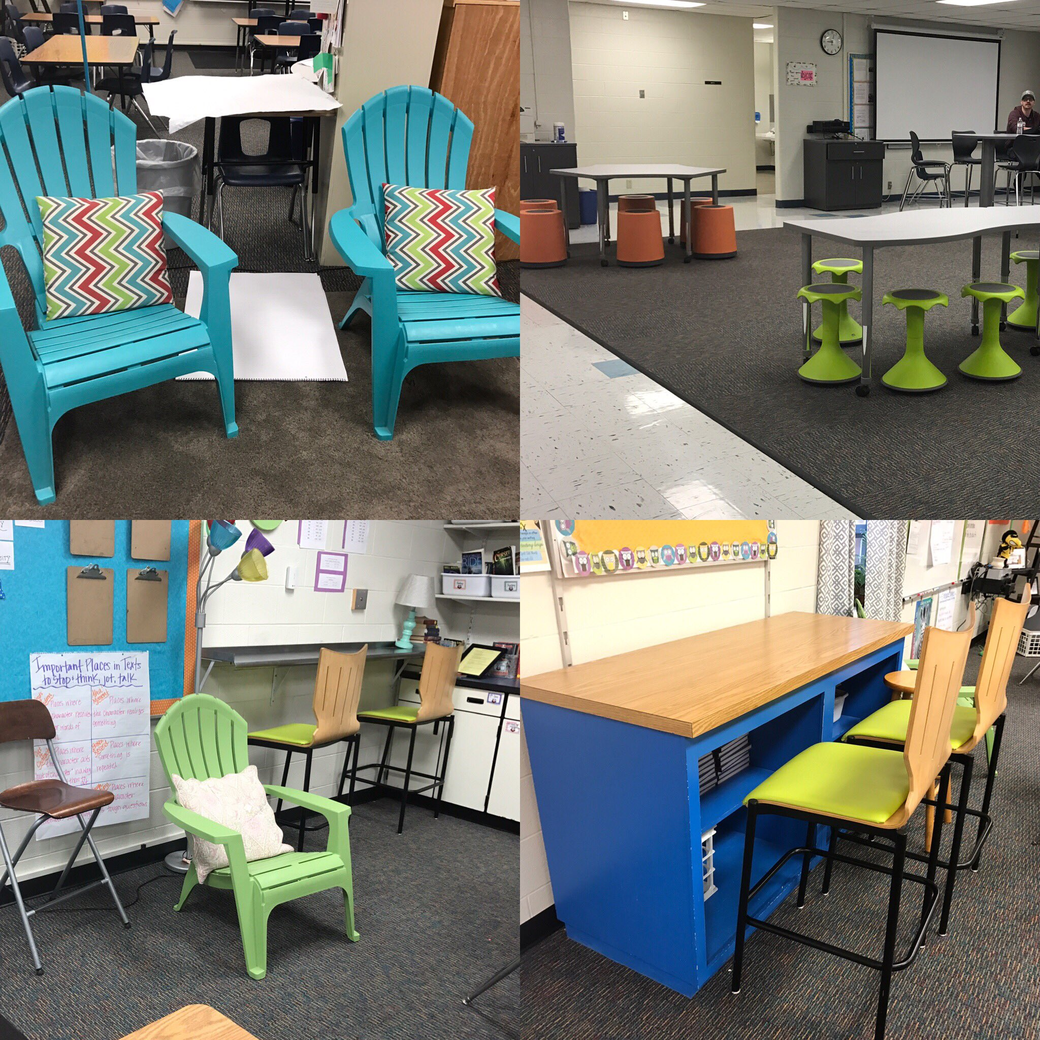 Loving all the #flexibleseating options at #edcampliberty today! https://t.co/u50HYL21GE