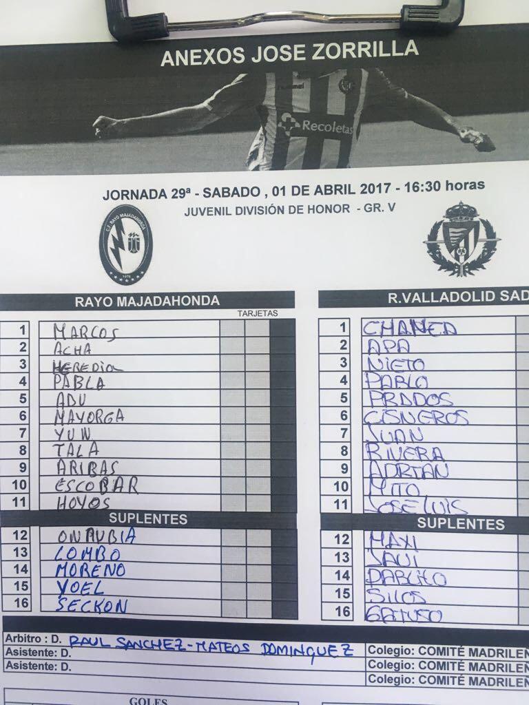 Real Valladolid Juvenil A - Temporada 2016/17 - División de Honor Grupo V - Página 21 C8VUEcwXgAAS5fo