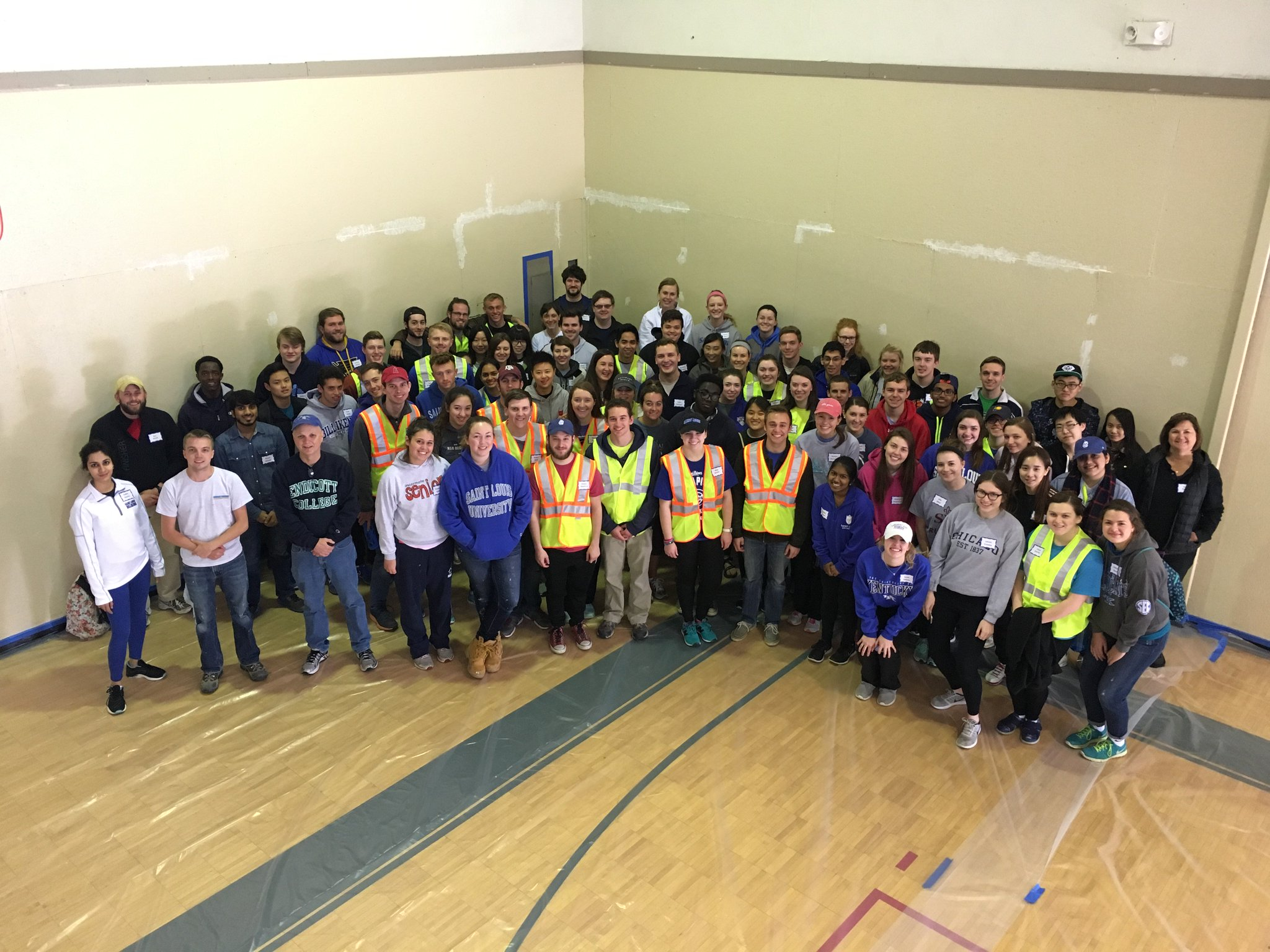 Cook School of Business Service Day is underway! Thank you for joining us today! #ServiceDay https://t.co/4dUDXnDhM8
