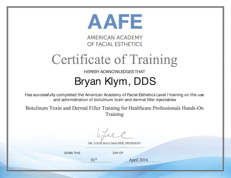 Dr Brian Klym On Twitter Dr Klym Has Been Trained