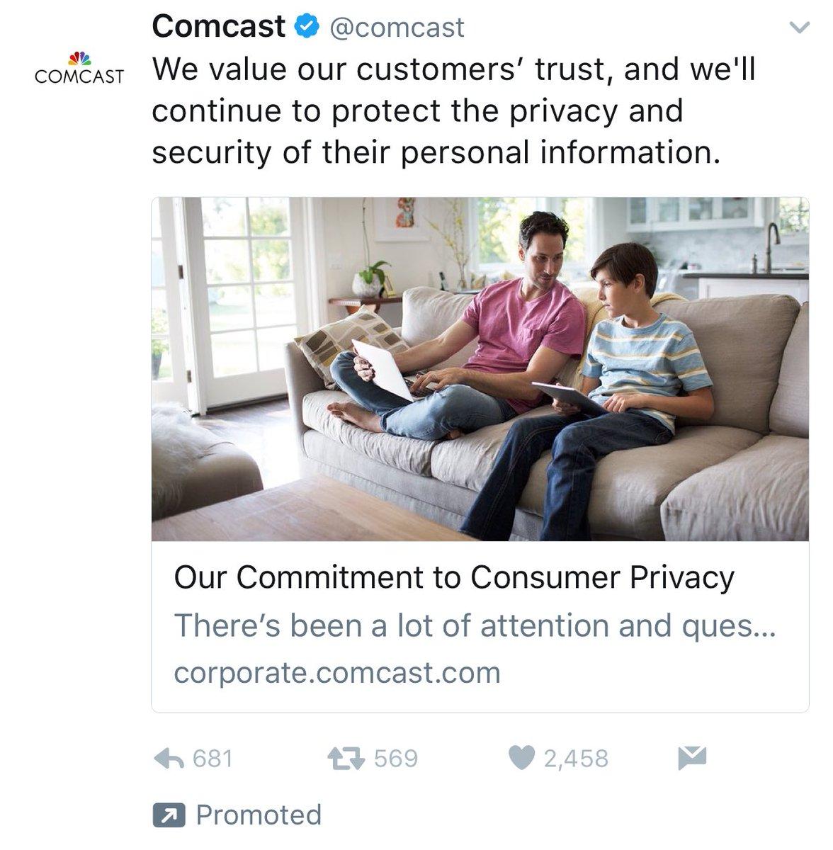 Comcast killing it with their April Fools' joke https://t.co/UqnQ441iDU