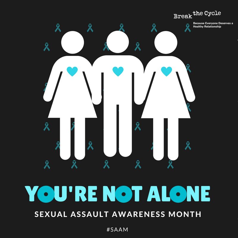 Today starts Sexual Assault Awareness Month (#SAAM). We believe you. https://t.co/wPEzJYH6JF