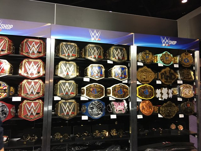 25b56bf7a they have every wwe championship belt at the wwe superstore with most belts  selling for around