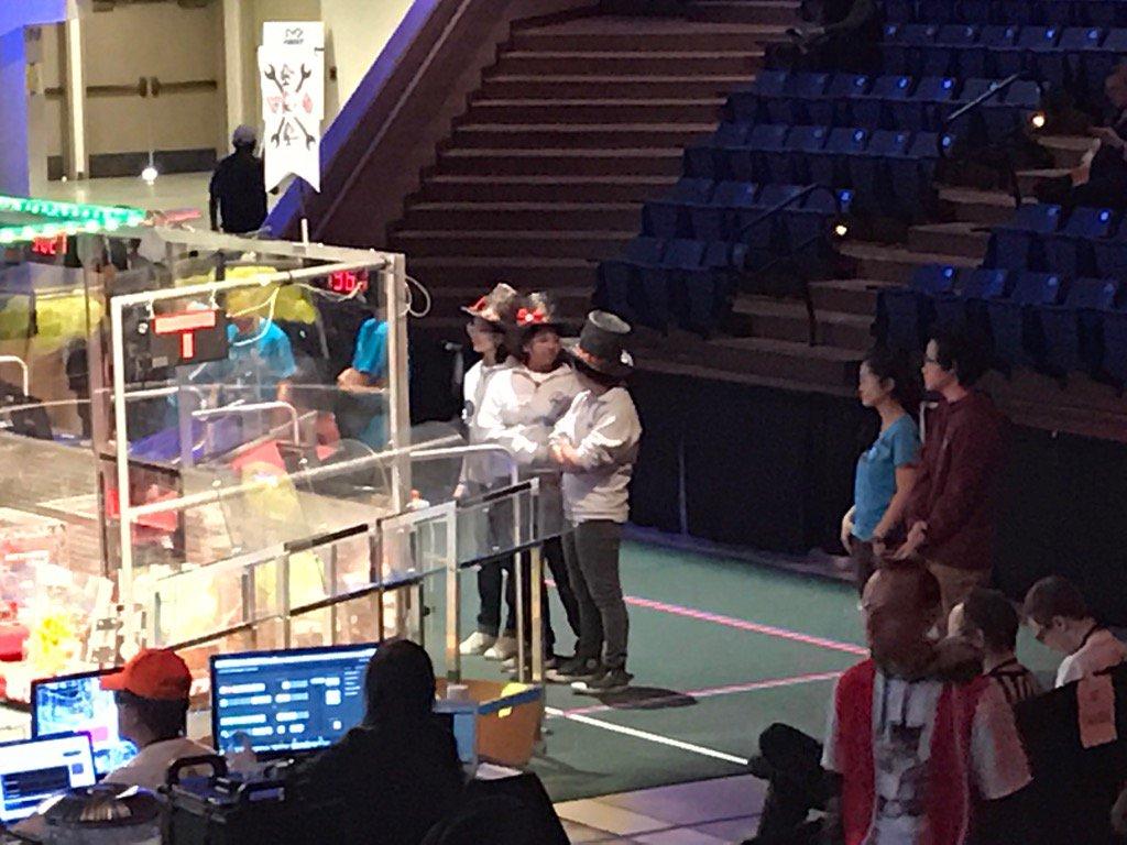 @team1967 drive team - 2nd day of competition @STEM_SUSAN @Wendy_Ryan @jbpmamo @shrutisdesigns https://t.co/68LwGrBMEq