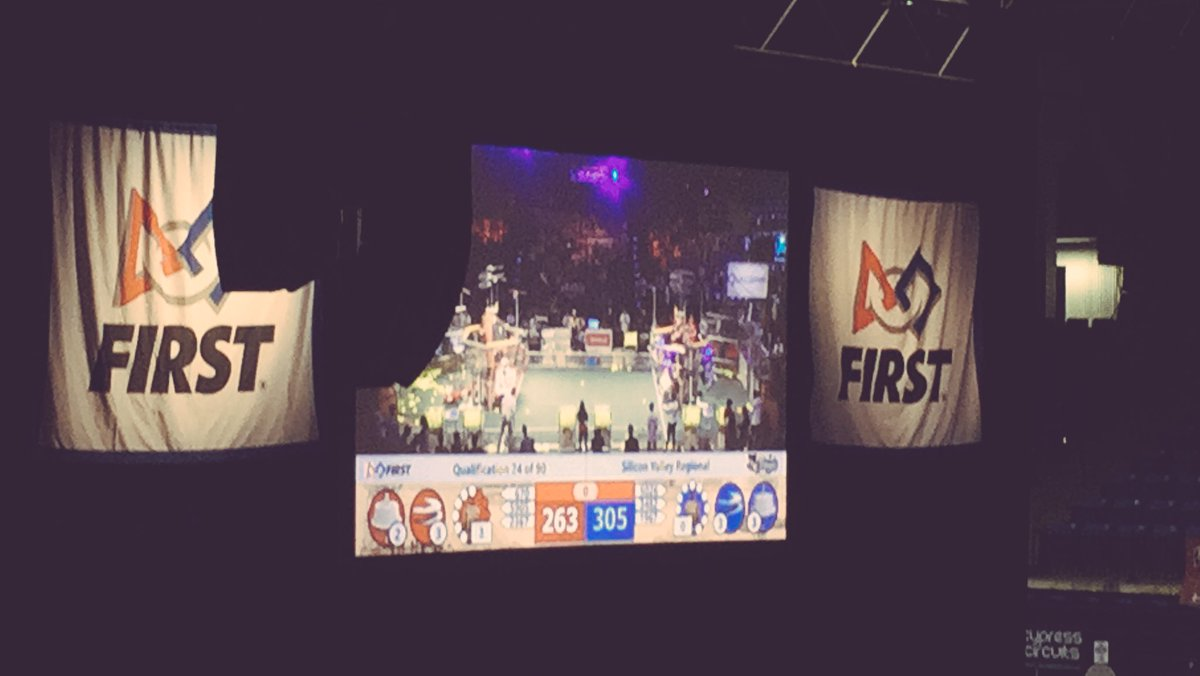#bowsnbots match Q74 Janksters and teams won with 305 points- Go Janksters!!! @team1967  #girlsinstem https://t.co/4Pw6qzQWt4