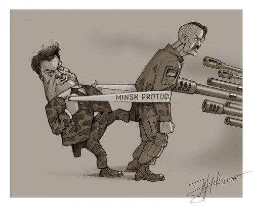 Террористы всю ночь обстреливали Красногоровку, - полиция - Цензор.НЕТ 8962