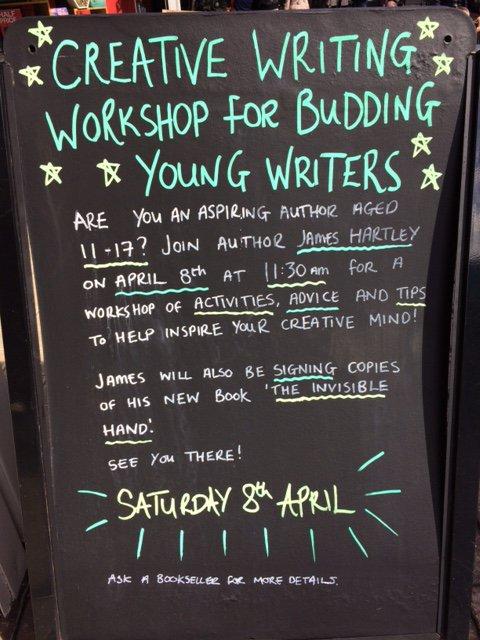 creative writing books waterstones MA Creative Writing   Edinburgh Napier   blogger