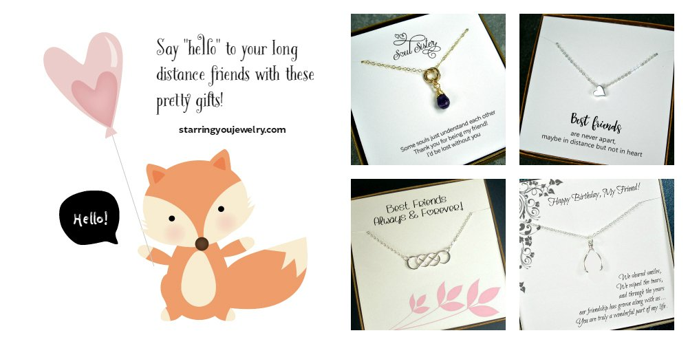 Say &quot;hello~&quot; to your long distance #friends!  http:// etsy.me/2qukpiL  &nbsp;    #friendship #bestfriend #gifts #epiconetsy <br>http://pic.twitter.com/IK6u5r79J3