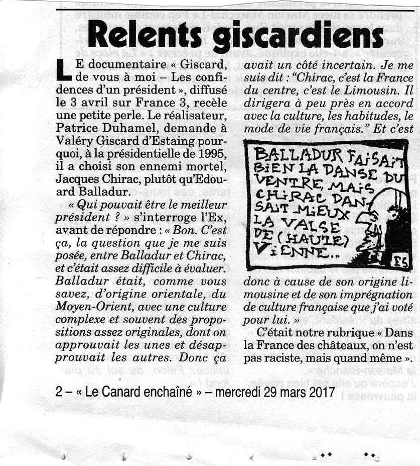 Pétainiste un jour, pétainiste toujours. #GiscardFamilyTraditions #VGE