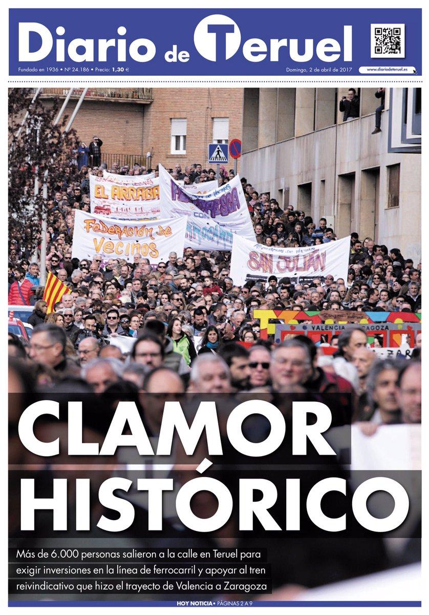 La portada del domingo, dedicada a todos los que no se dan por vencidos. ¡CLAMOR HISTÓRICO! https://t.co/QMWQKMuV2a