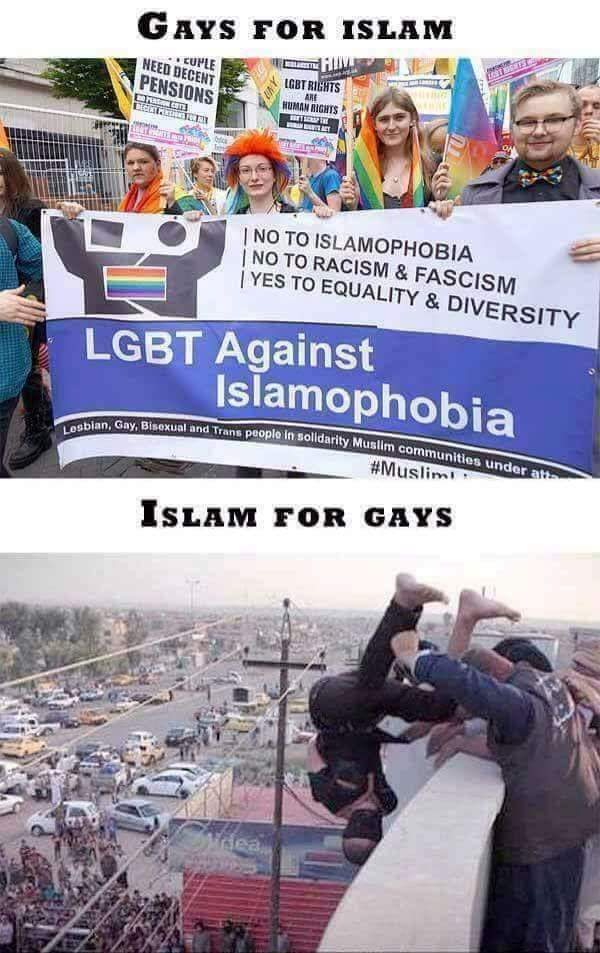 is islam okay with gays