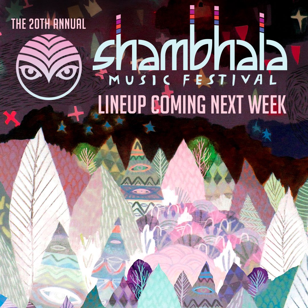 Shambha-Farmily, we've got what you've been waiting for! #shambhala2017 https://t.co/6au4jHySP4