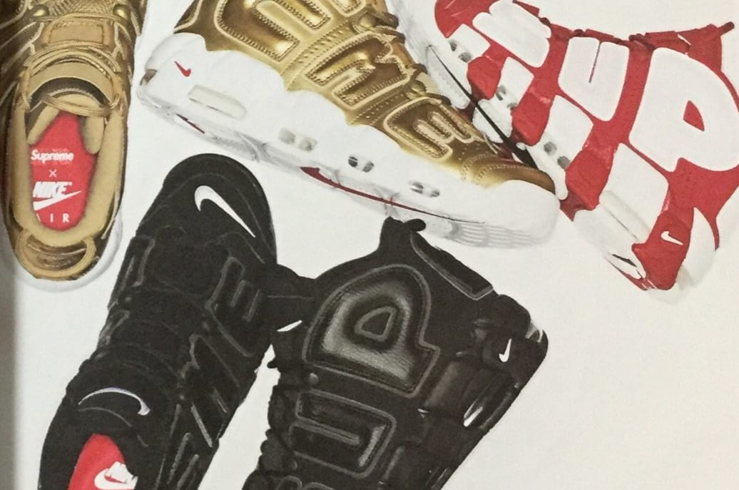 sports shoes 3ad4a 46131 a look ahead to the supreme x nike air more uptempo pack