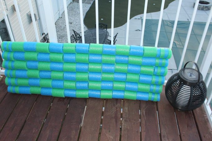 DIY Pool Noodle Float Raft • Julie Hoag Writer