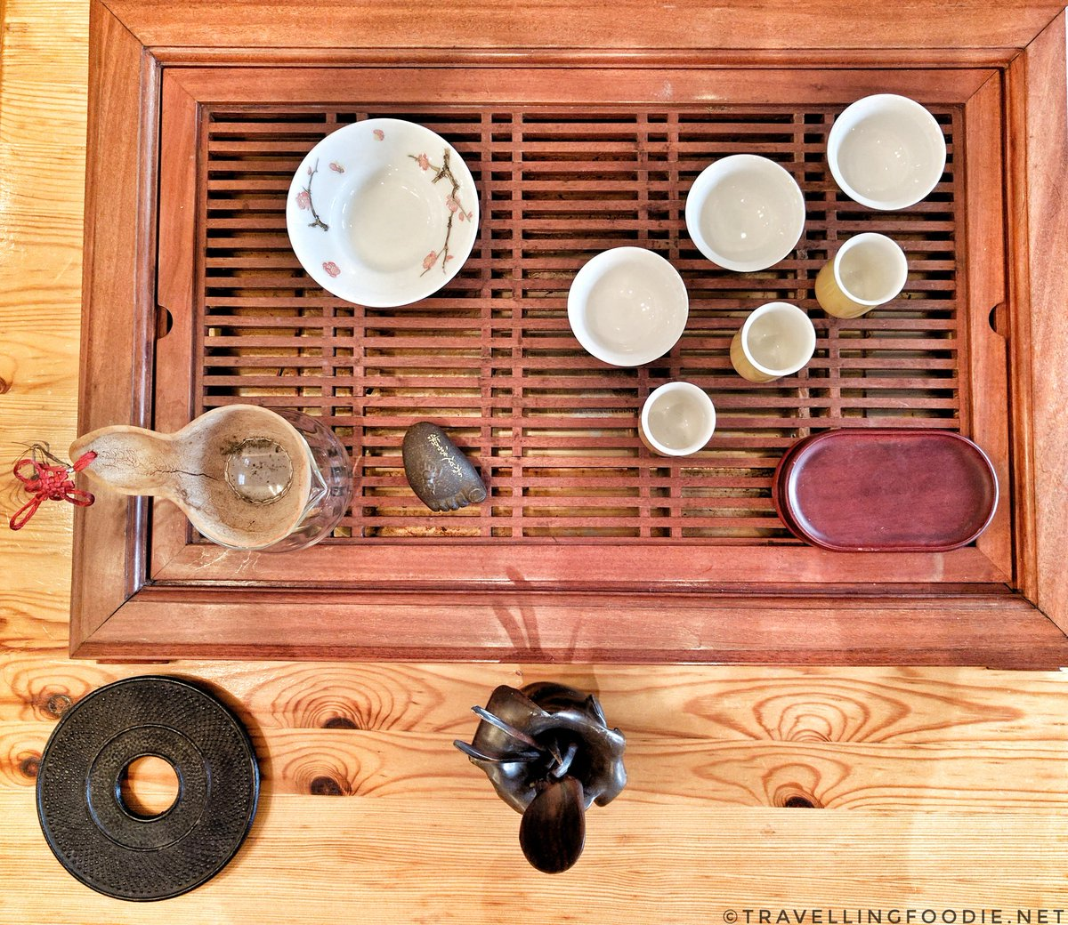 Stratford Tea Leaves Tea Tasting Bar: Taiwanese Tea Ceremony