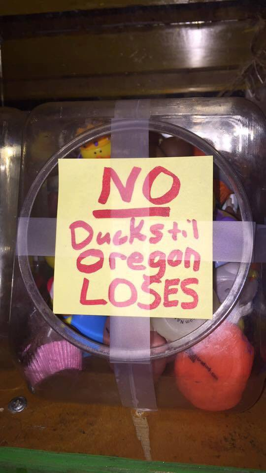 Free the rubber ducks, Dave!!!