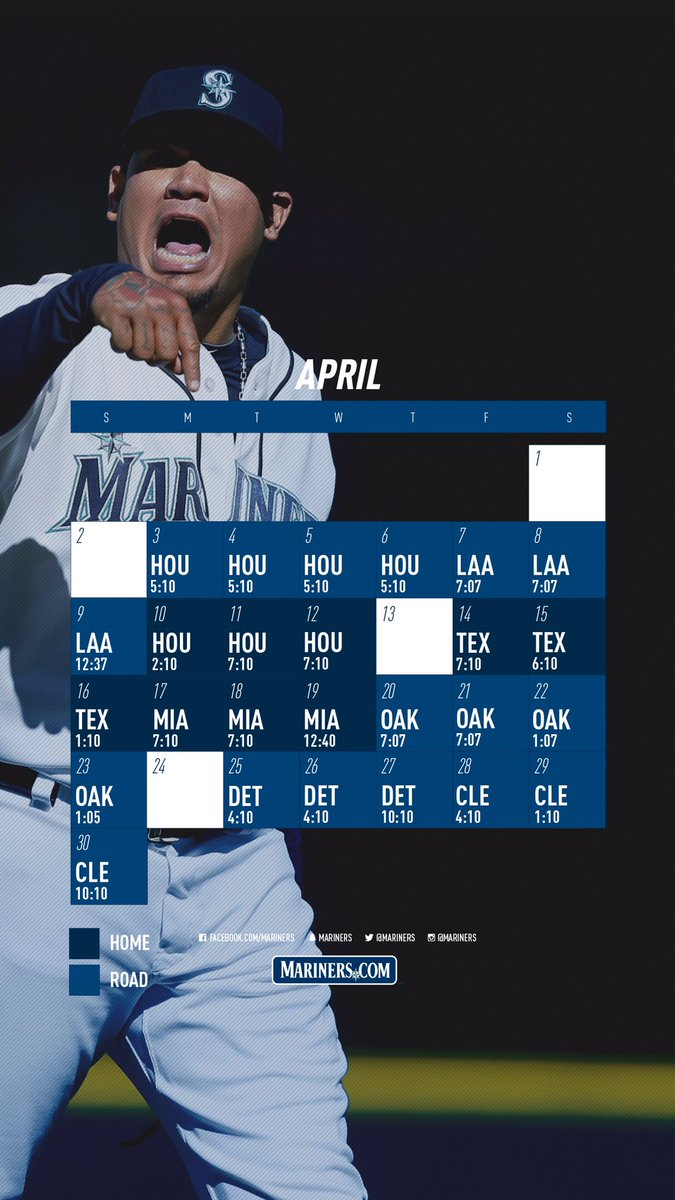 Seattle Mariners On Twitter Get Set For Openingday With A New