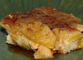 Pineapple Baked French Toast