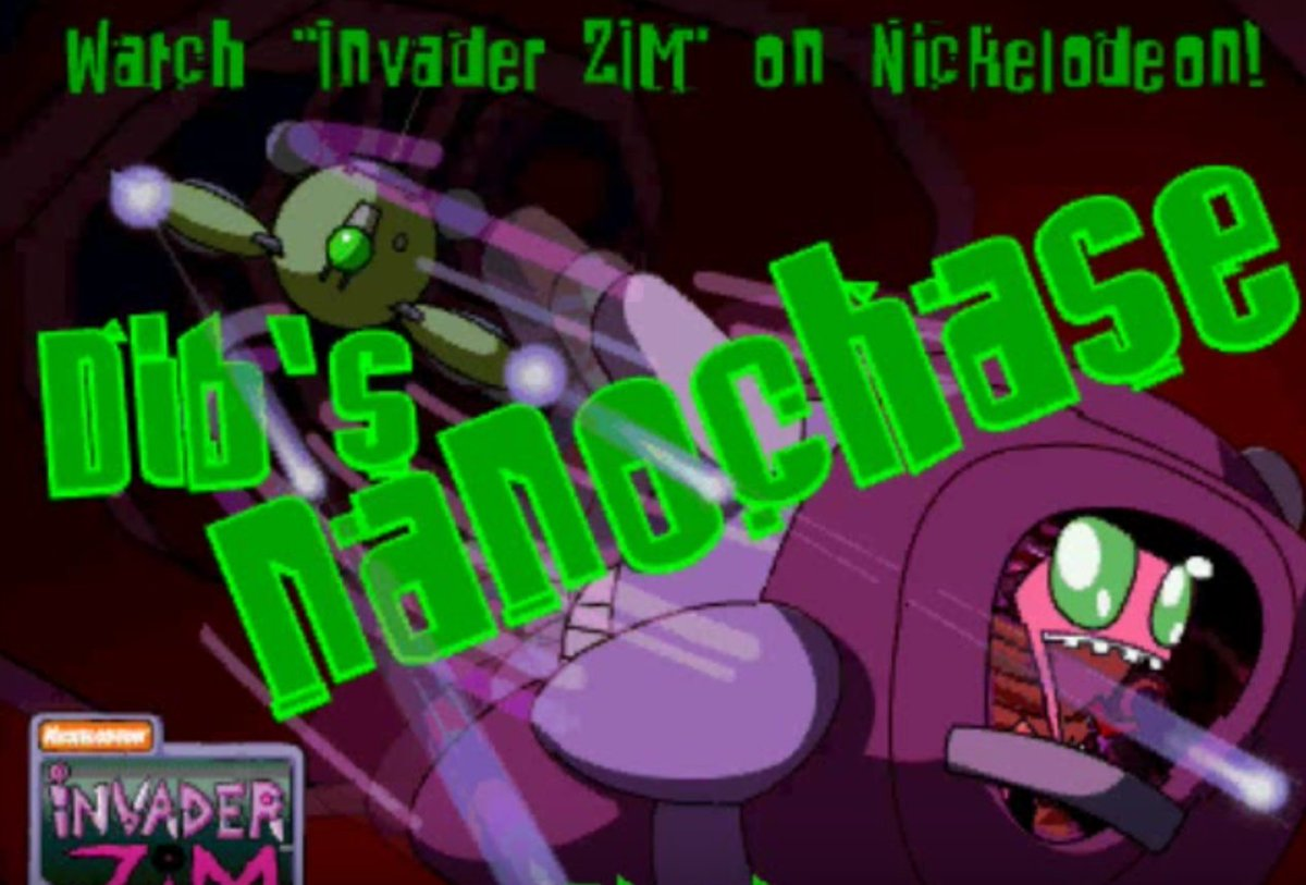 pan pizza on twitter can anyone find the invader zim flash game