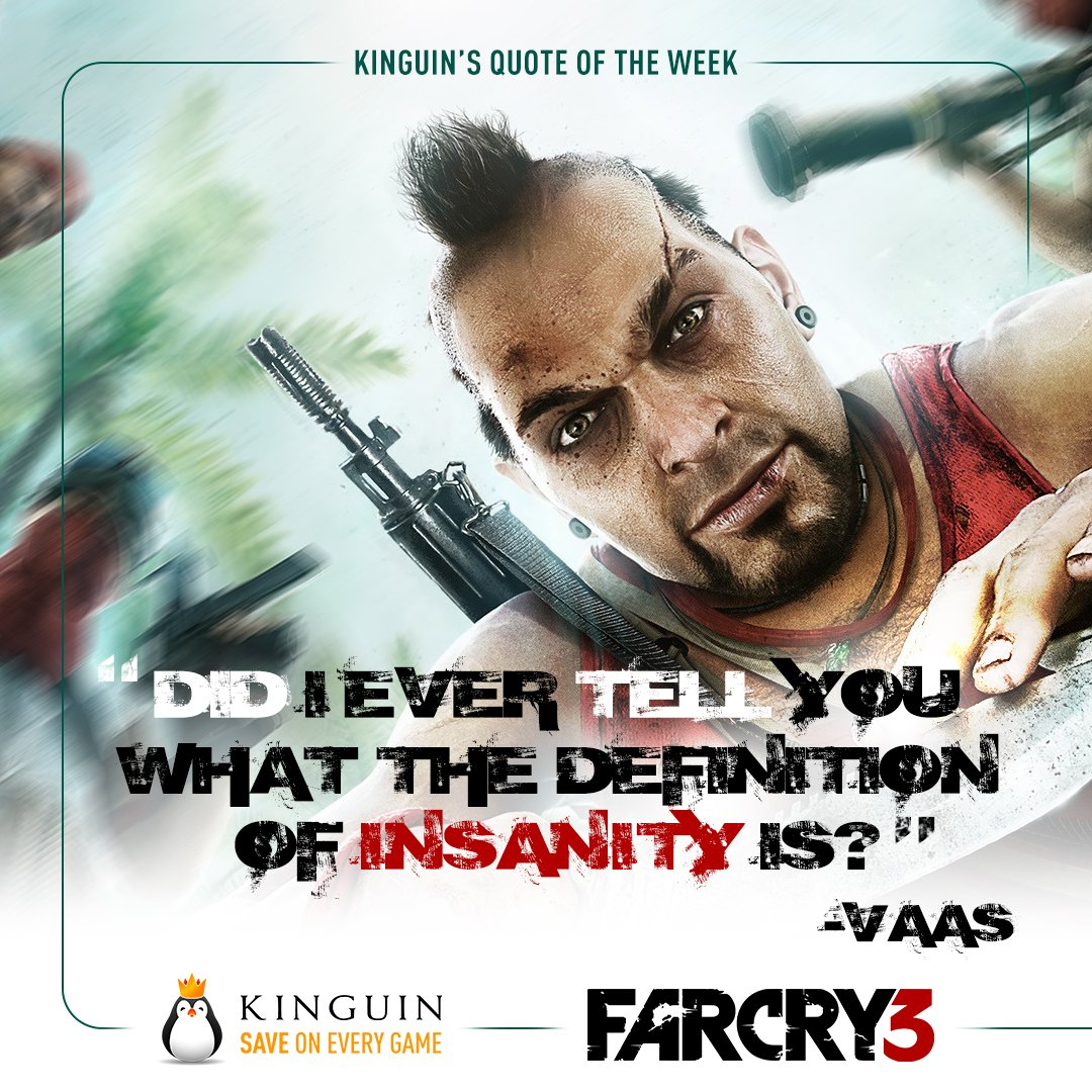 Kinguin Net On Twitter Remember Vaas From Far Cry 3 Can You Name A More Recognizable Villain Than Him