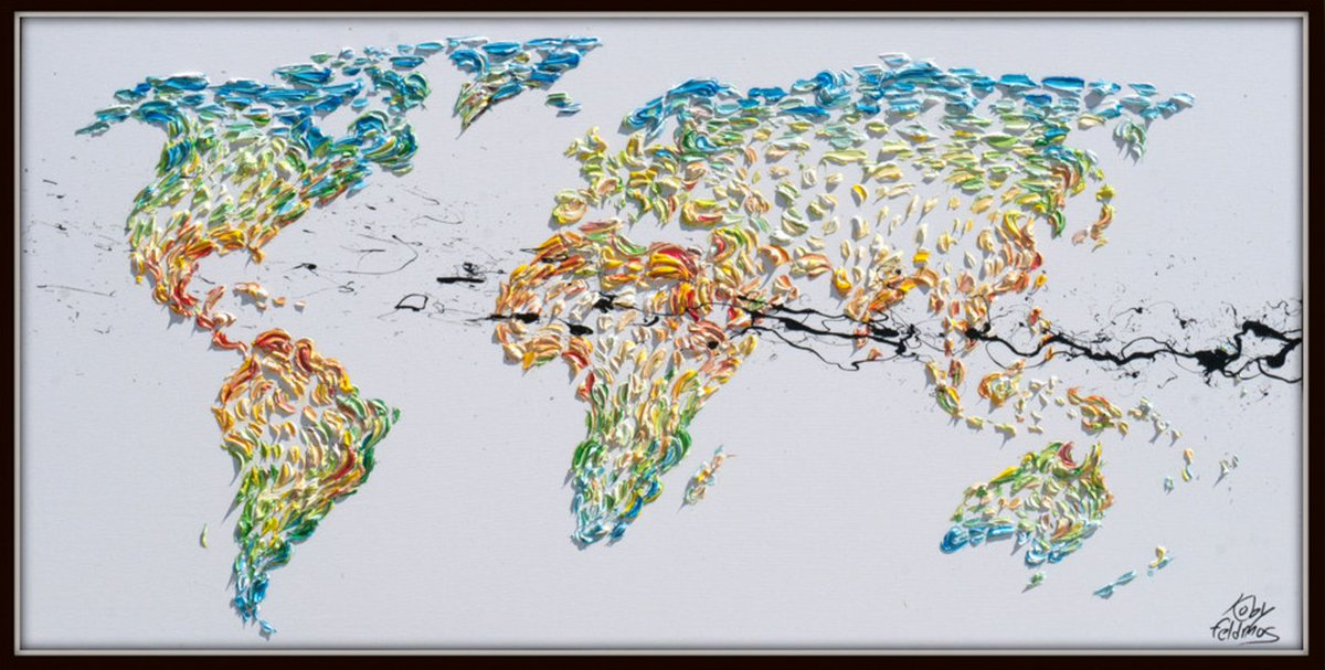 Koby feldmos on twitter painting 60 amazing world map earth 312 am 2 apr 2017 gumiabroncs Image collections