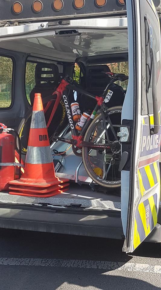 Paris-Roubaix: après son abandon, Guardini rentre… par l'autoroute