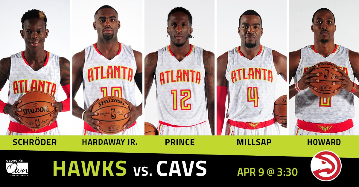 Atlanta Hawks On Twitter Paul Is Back In The Starting Lineup Here Are Today S Georgiasown Starters