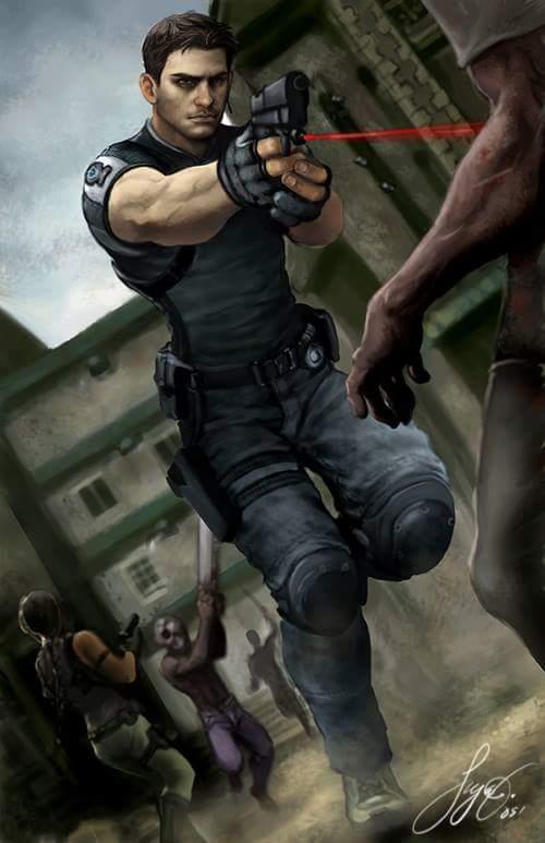 Chris Redfield On Twitter Resident Evil 5 Chris Redfield