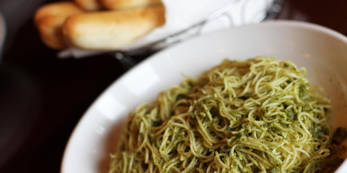 Olive Garden On Twitter It S Our Angel Hair Pasta Topped With Our
